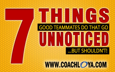 7 Things Good Teammates Do That Go Unnoticed—But Shouldn't