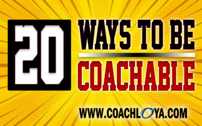 20 Ways to Be Coachable